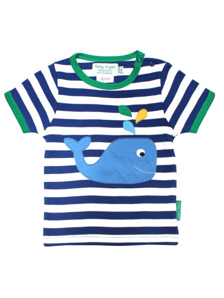 Toby Tiger Kids Whale T-Shirt