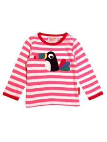 Toby Tiger Girls Toucan T-Shirt