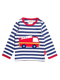 Baby Boys Fire Engine T-Shirt