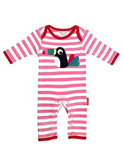 Baby Girls Toucan Sleepsuit
