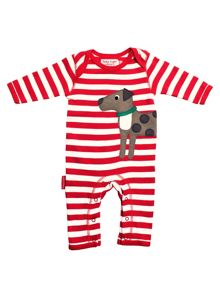Toby Tiger Babies Dog Sleepsuit