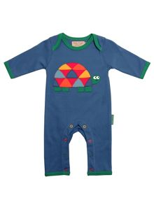 Toby Tiger Babies Tourtoise Sleepsuit