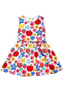 Toby Tiger Baby Girls Butterfly Flower Party Dress
