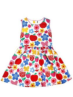 Girls Butterfly Flower Party Dress