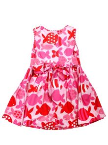 Toby Tiger Girls Fish Party Dress