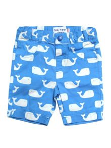 Toby Tiger Kids Whale Shorts