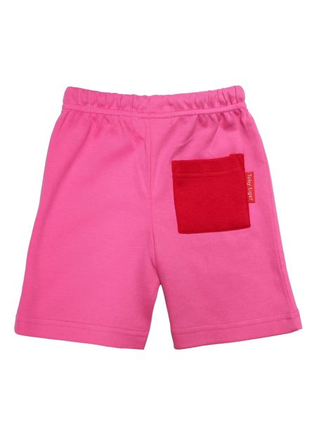 Toby Tiger Baby Girls Pink Shorts