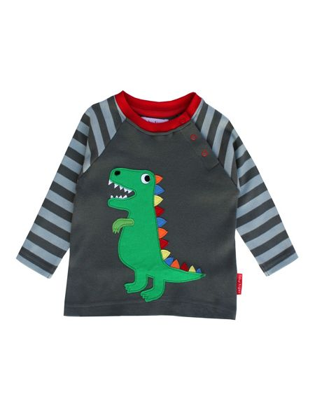 Toby Tiger Organic Cotton Trex T-Shirt