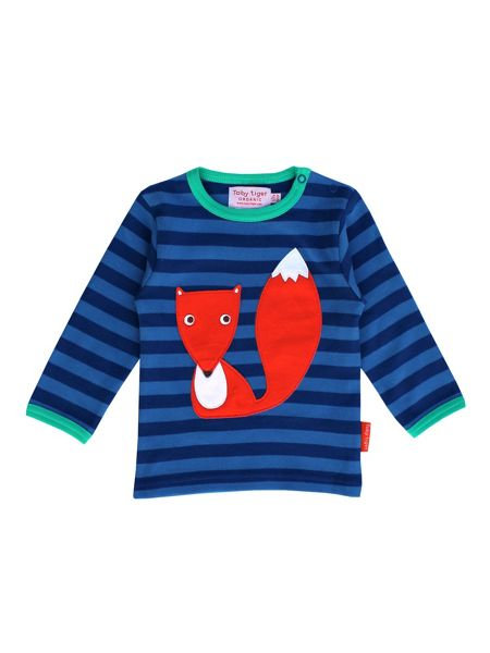 Toby Tiger Organic Cotton Fox T-Shirt
