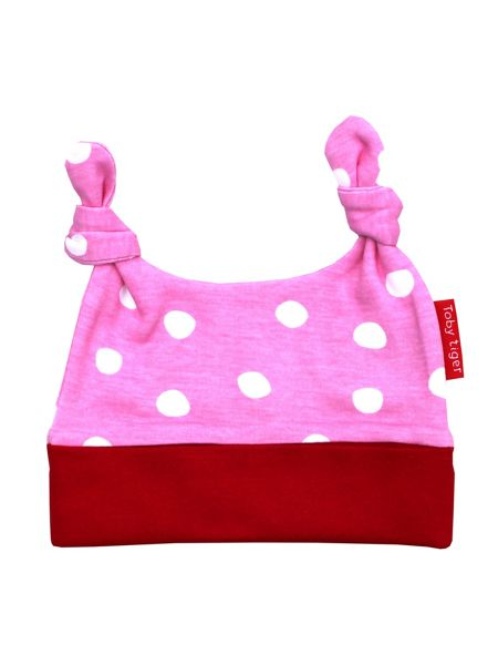 Toby Tiger Girls Cat Organic Cotton Hat
