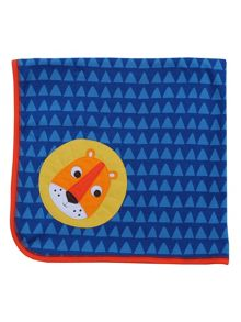 Toby Tiger Lion Organic Cotton Blanket