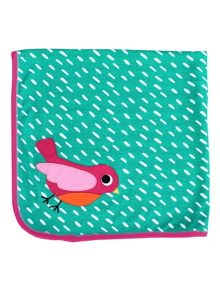 Toby Tiger Bird Organic Cotton Blanket