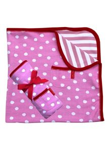 Toby Tiger Cat Organic Cotton Blanket