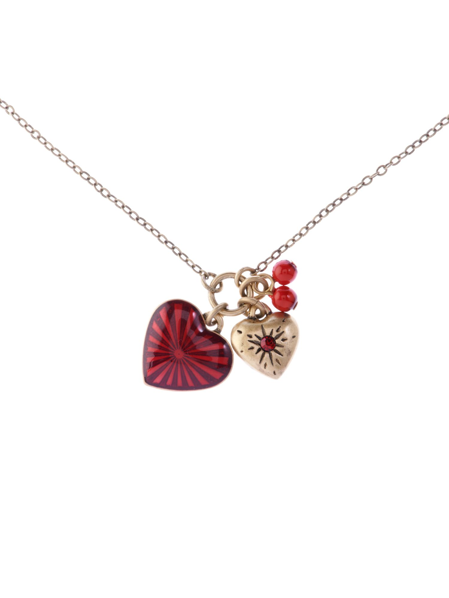 Cath Kidston Cath Kidson Heart charm necklace