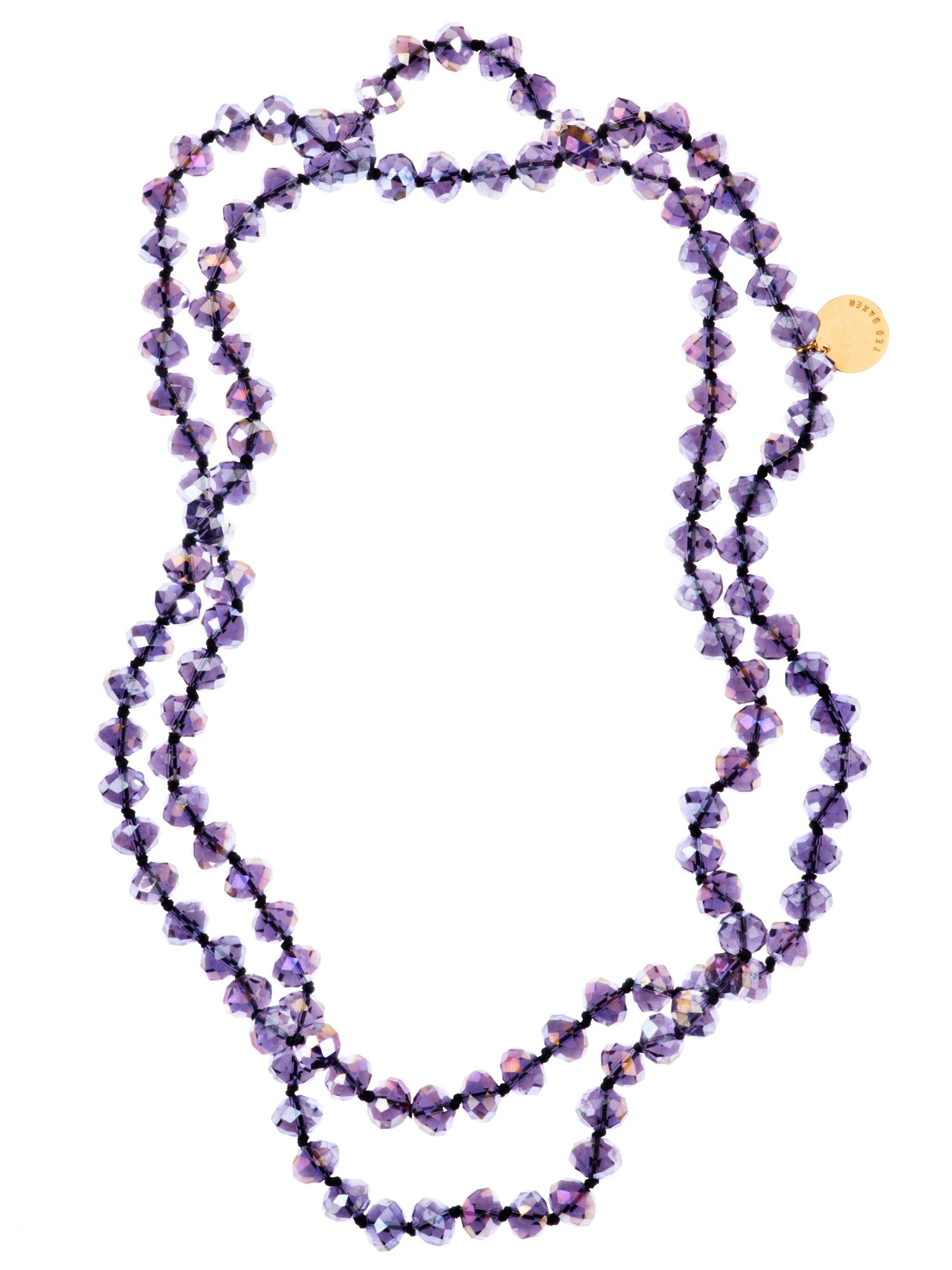 Ted Baker Ted Baker crystal bead strand necklace