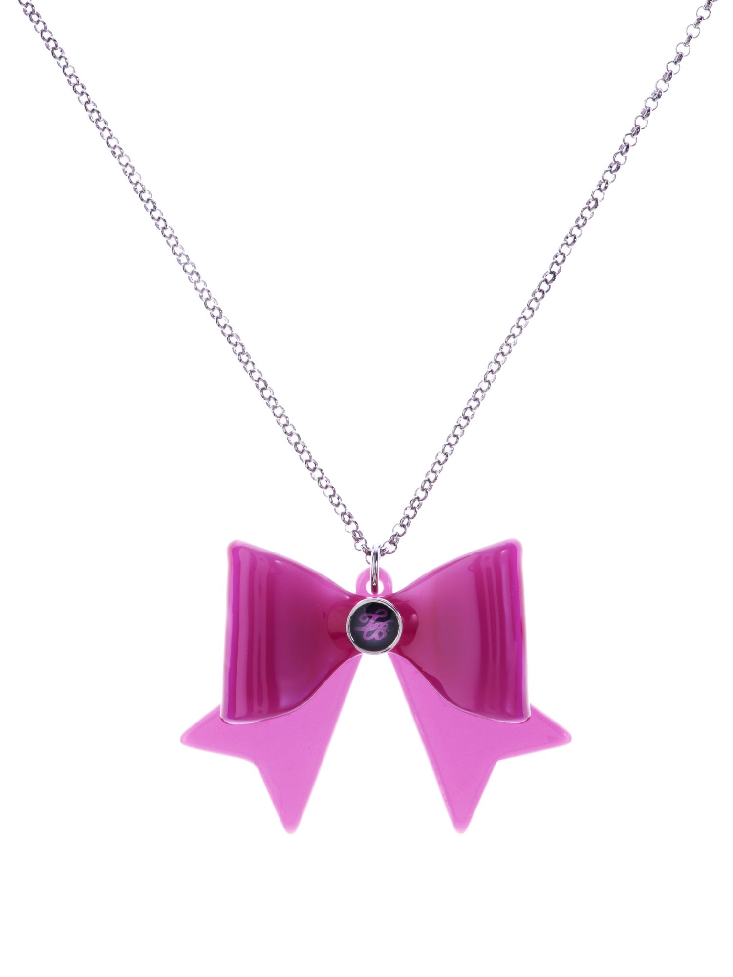 Ted Baker acrylic bow necklace
