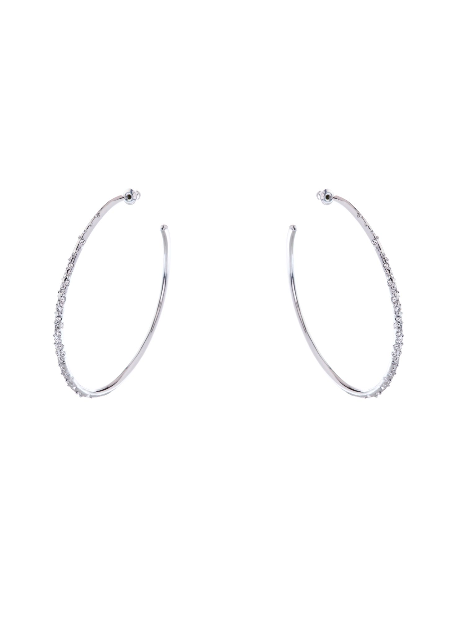 Karen Millen Crystal Sprinkle Earrings