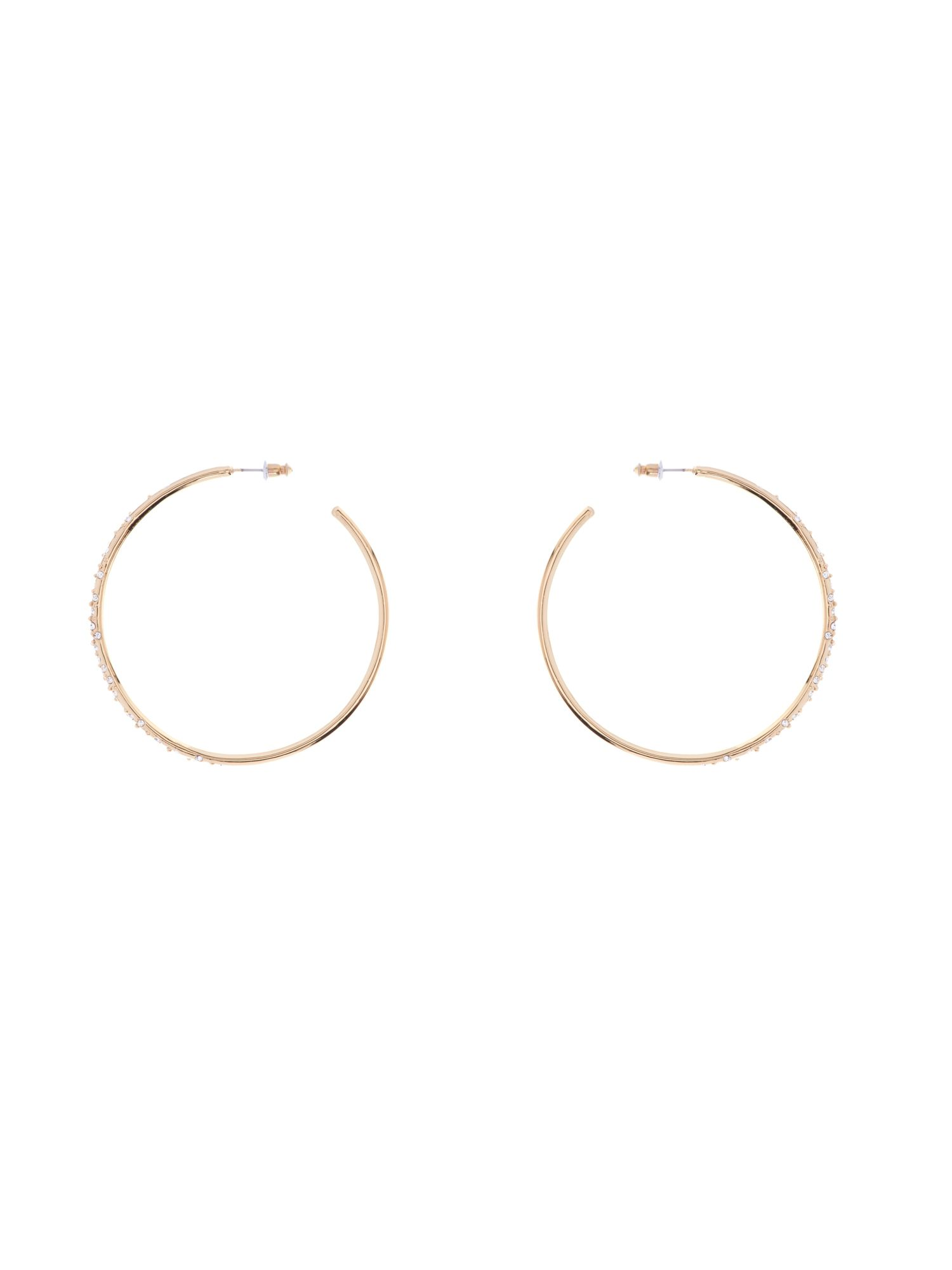 Karen Millen  Sprinkle Hoop Earrings