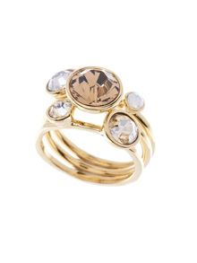 Ted Baker Jackie Topaz Jewel Stack Ring