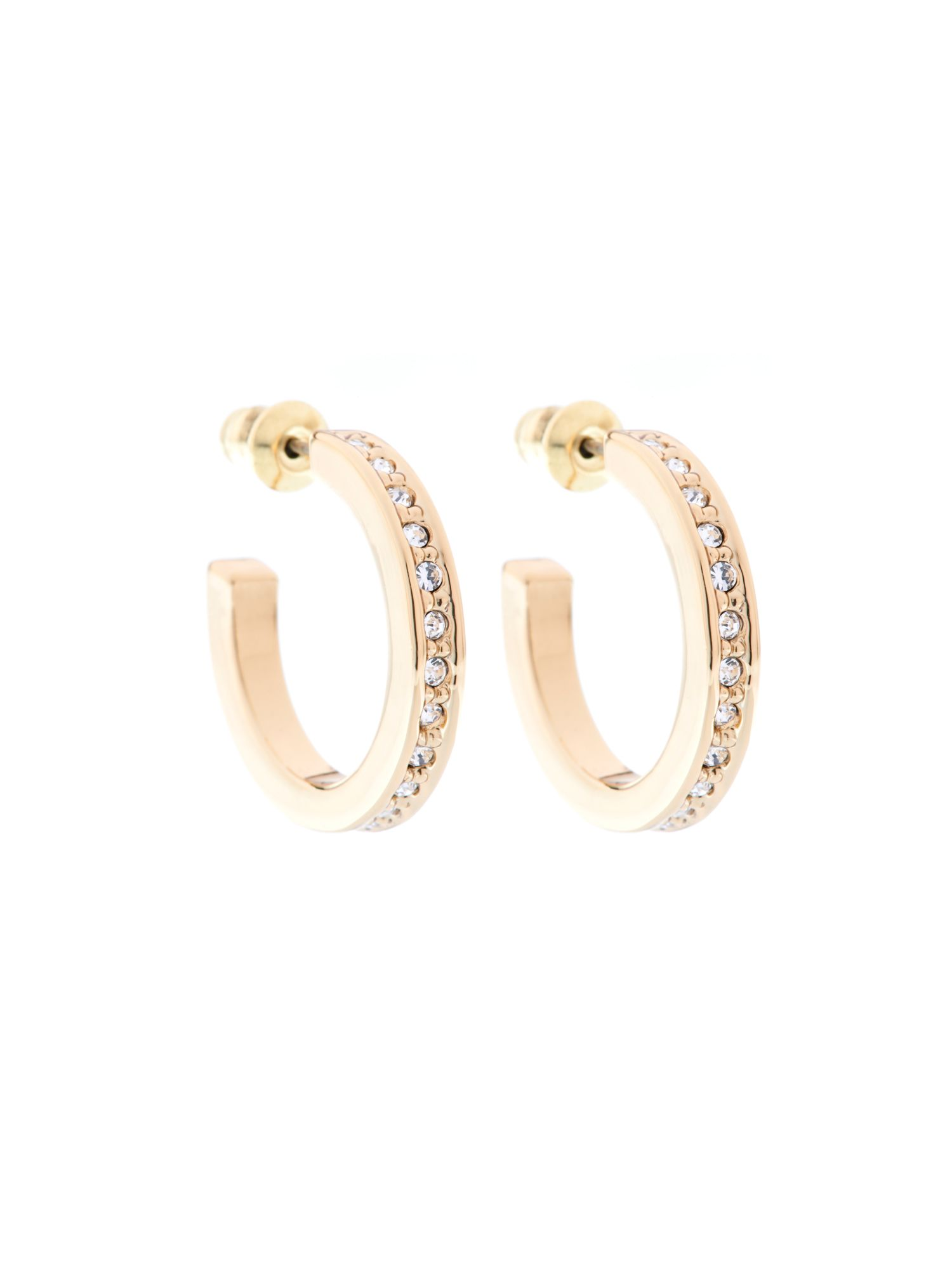 Karen millen small hoop earrings