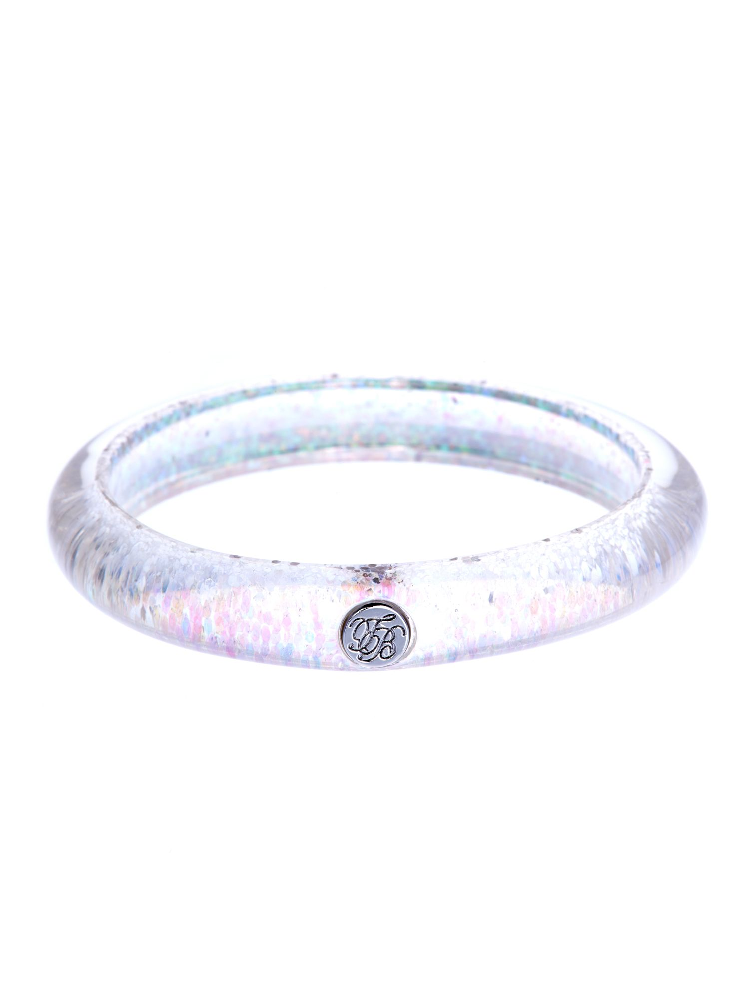 Ryleey resin button bangle