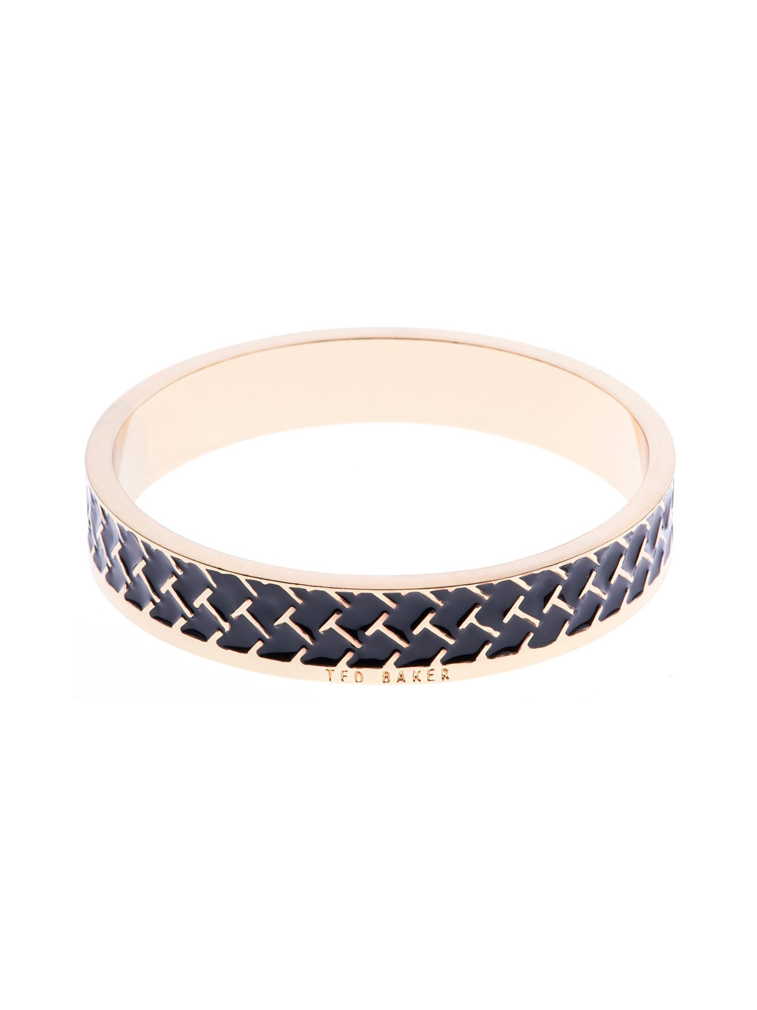 Clowi t pattern enamel bangle