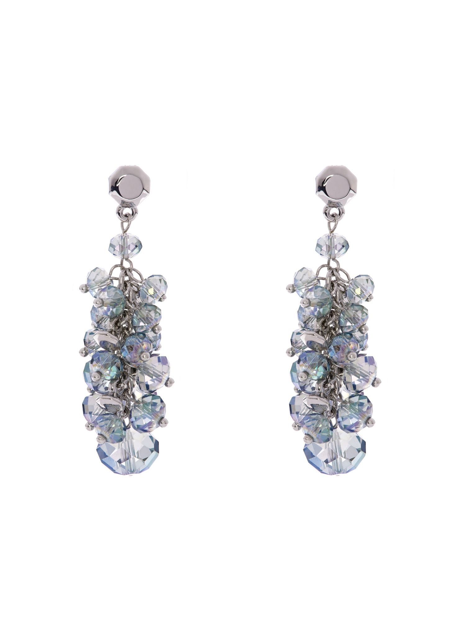 Jann bead cluster drop earrings