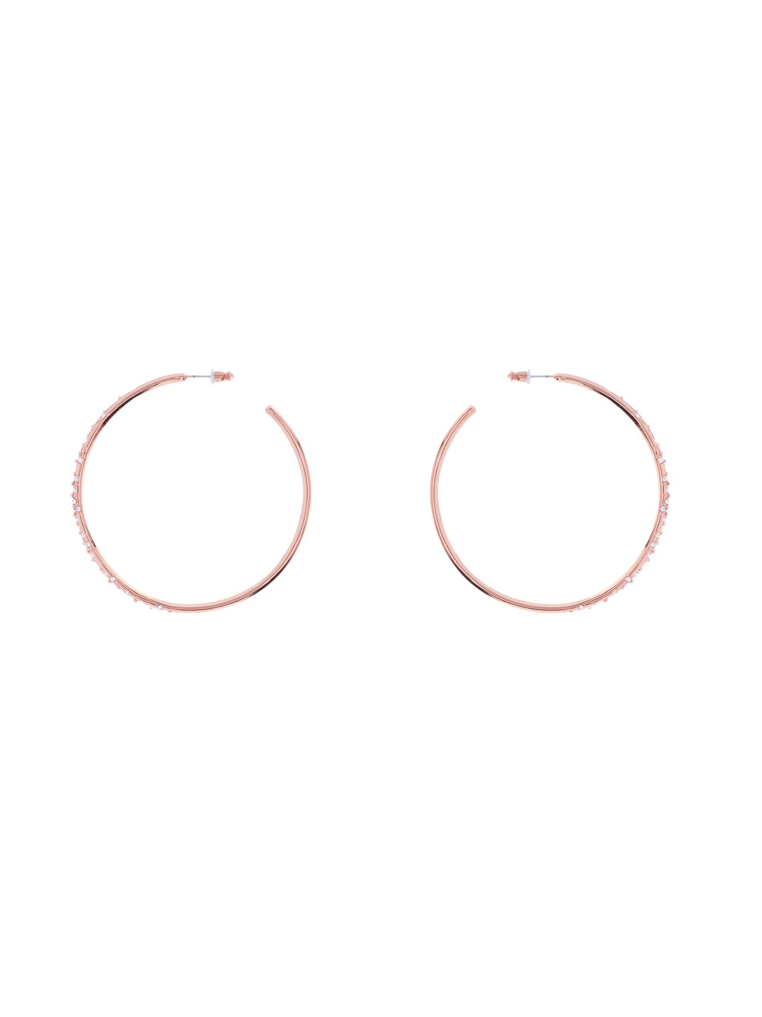 Sprinkle hoop earrings