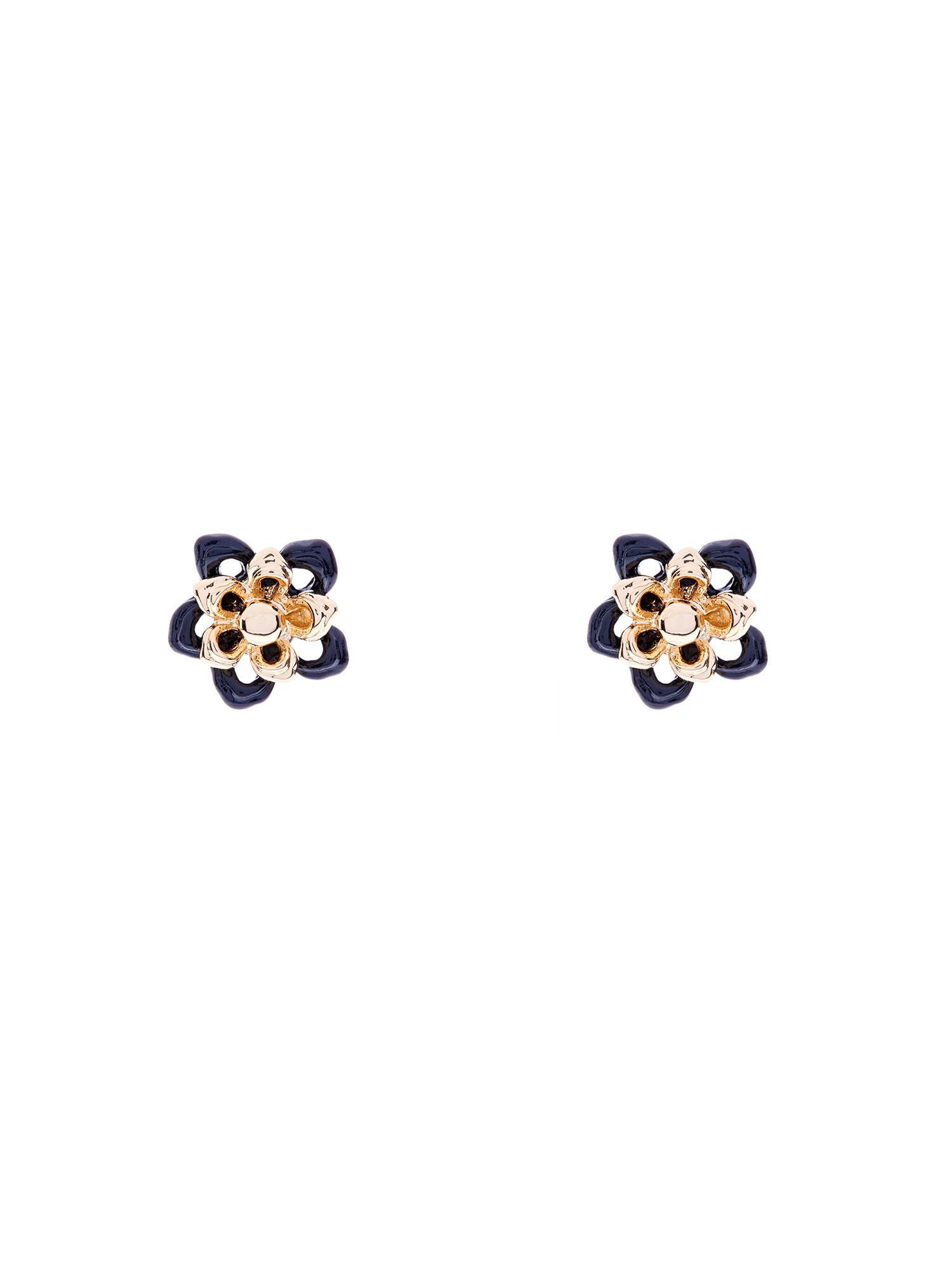 Cutwork flower studs