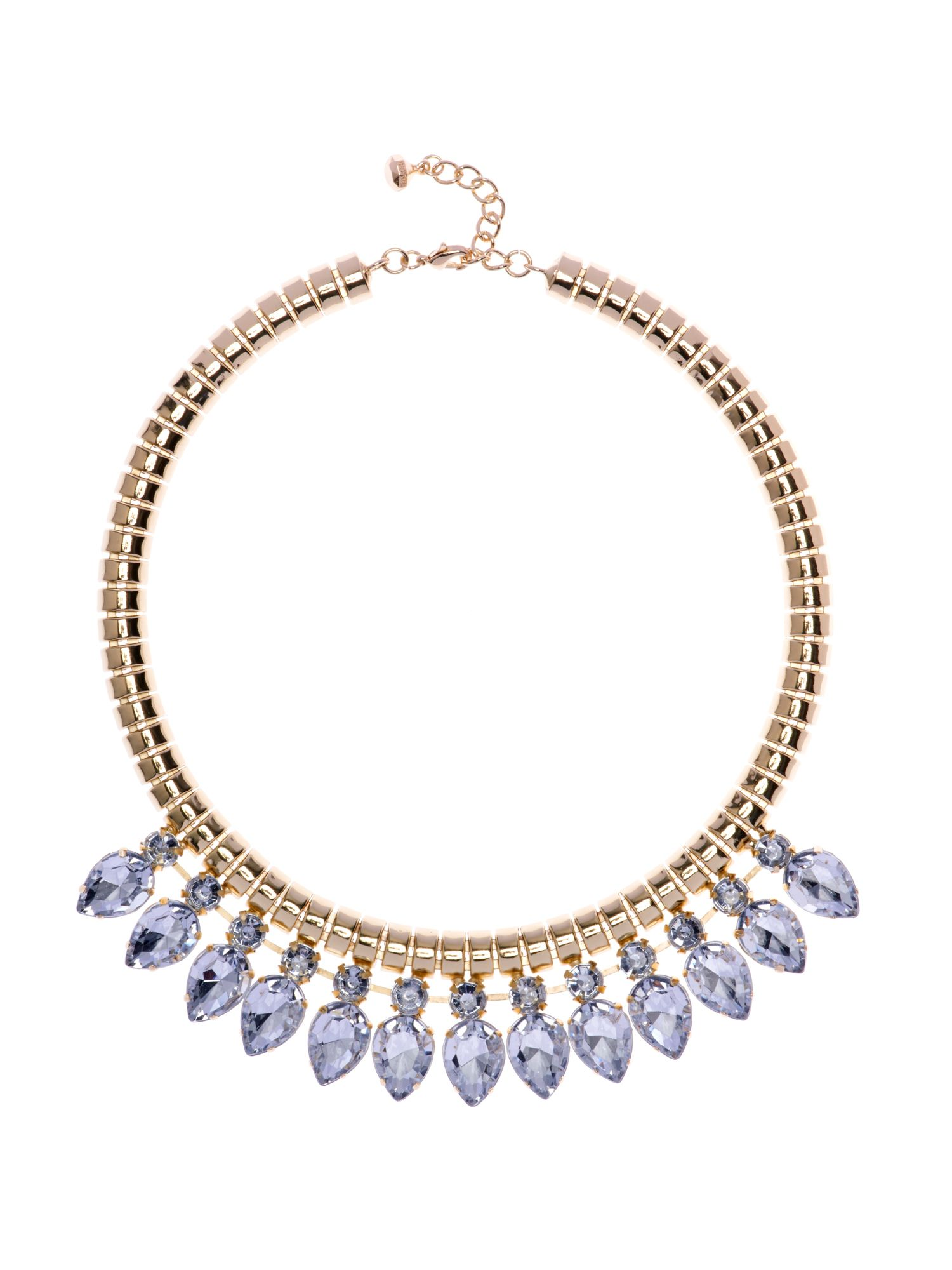 Emari pear drop necklace