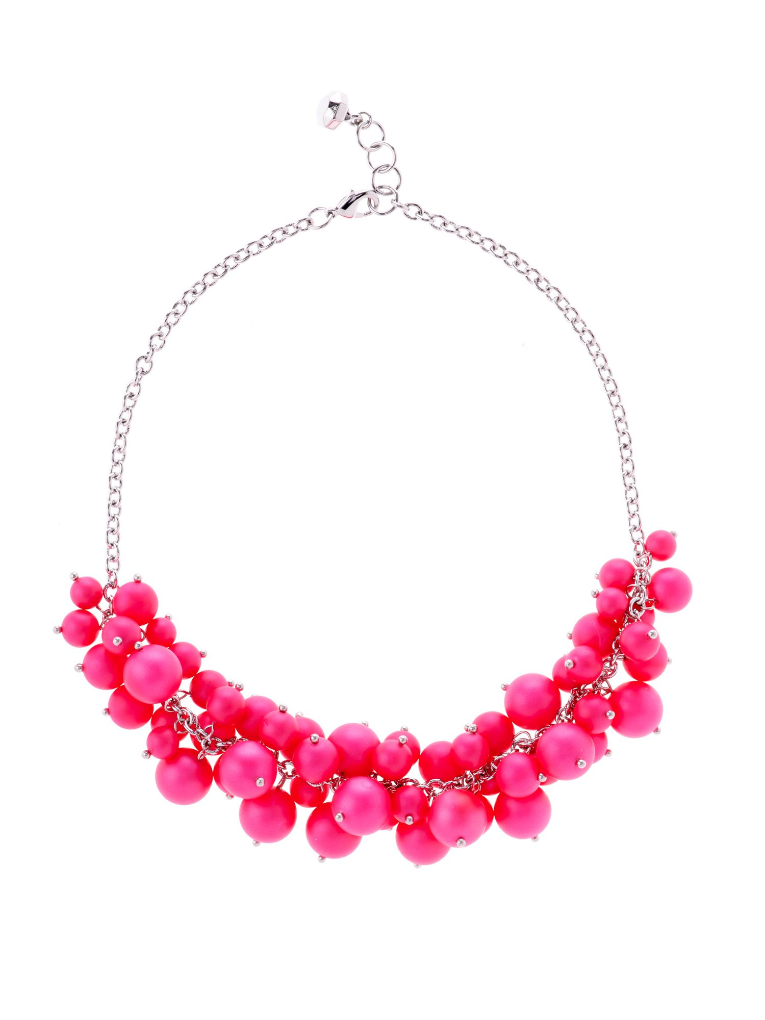 Dyanie pearl cluster necklace