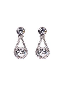 Ted Baker Stormm crystal chain drop earring