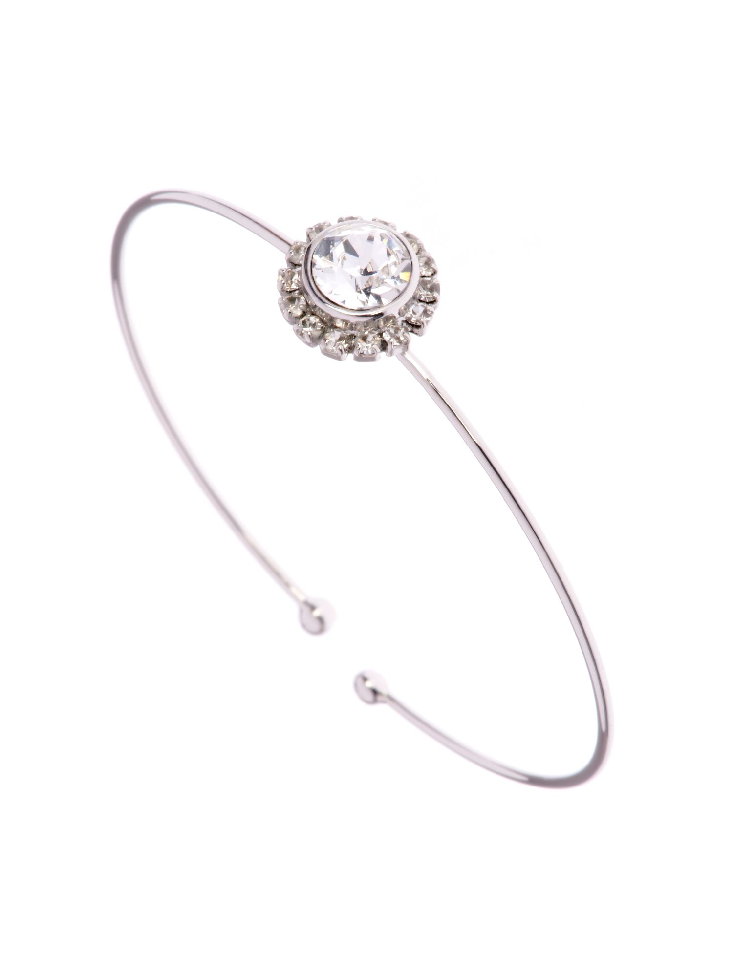 Sapplelle crystal chain ultra fine cuff