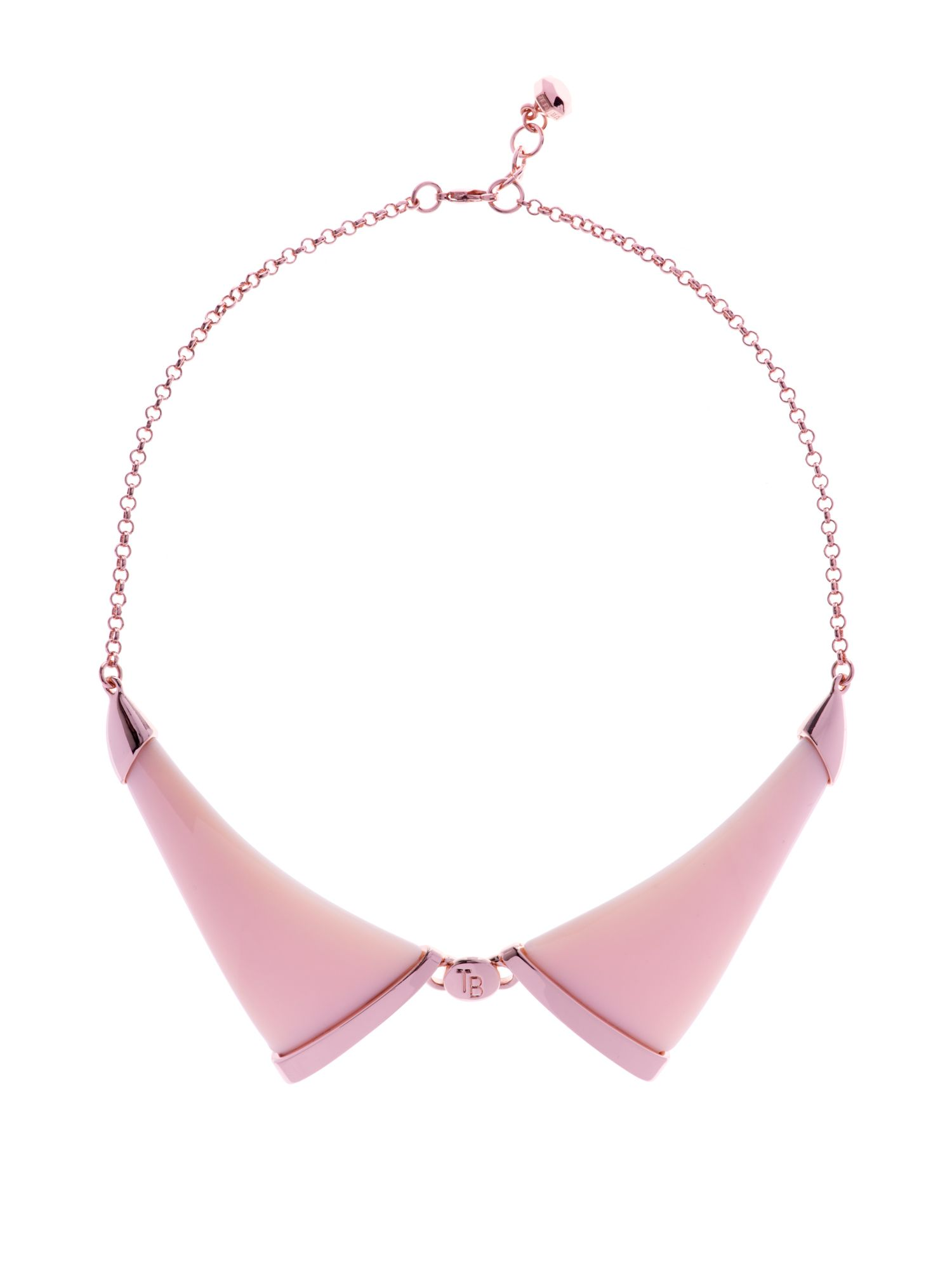 Eisha resin collar necklace