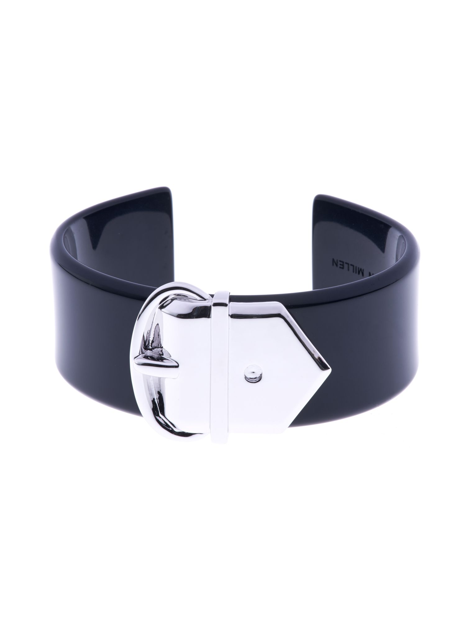 Acetate wide buckle cuff