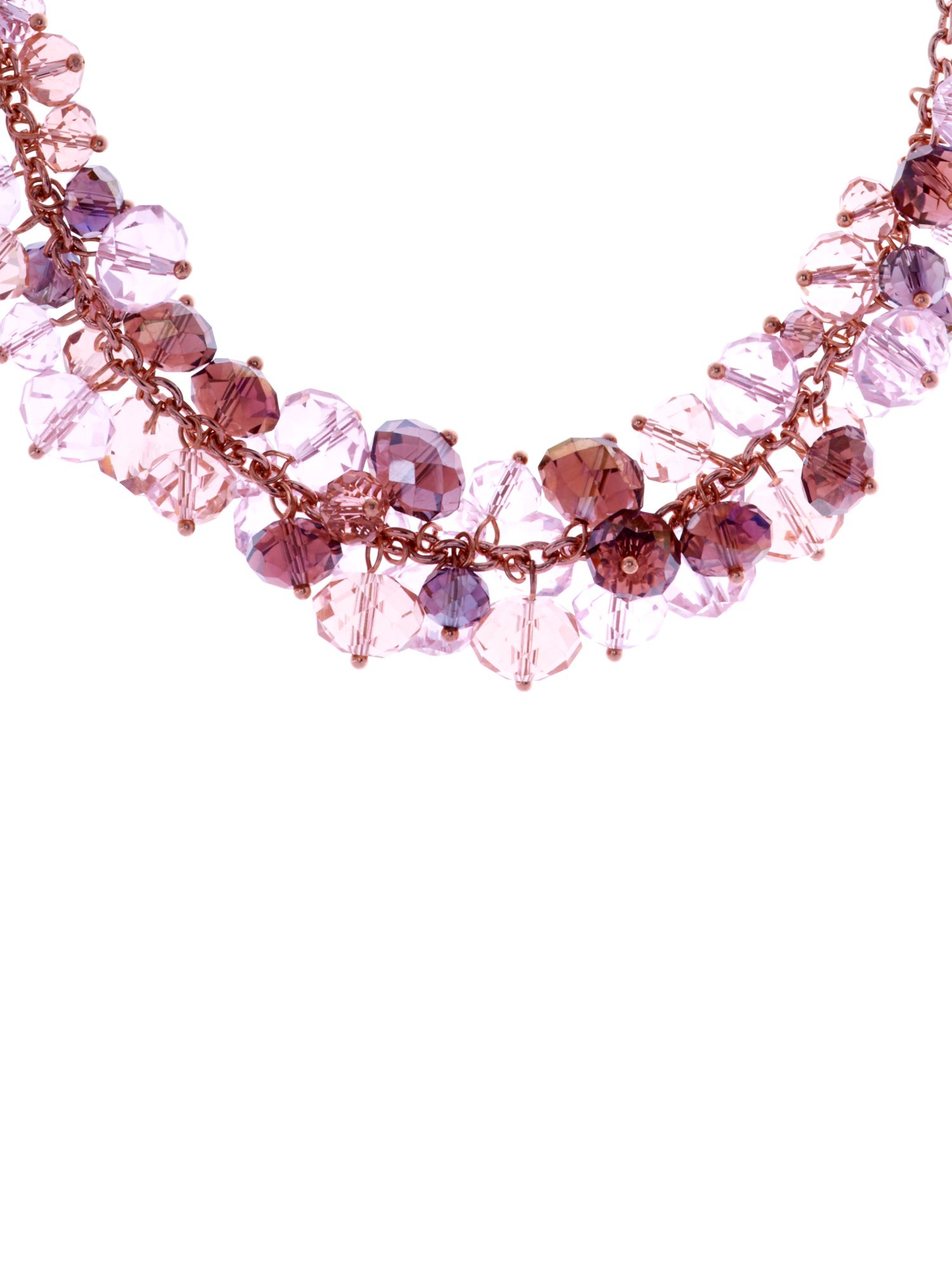 Christabel bead cluster necklace