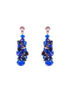 Jann bead cluster drop earring