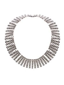 Wanda crystal band necklace