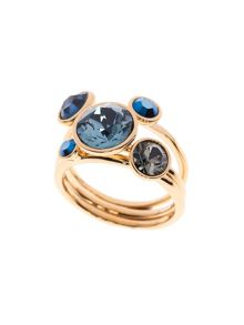 Jackie Jewel Stack Ring