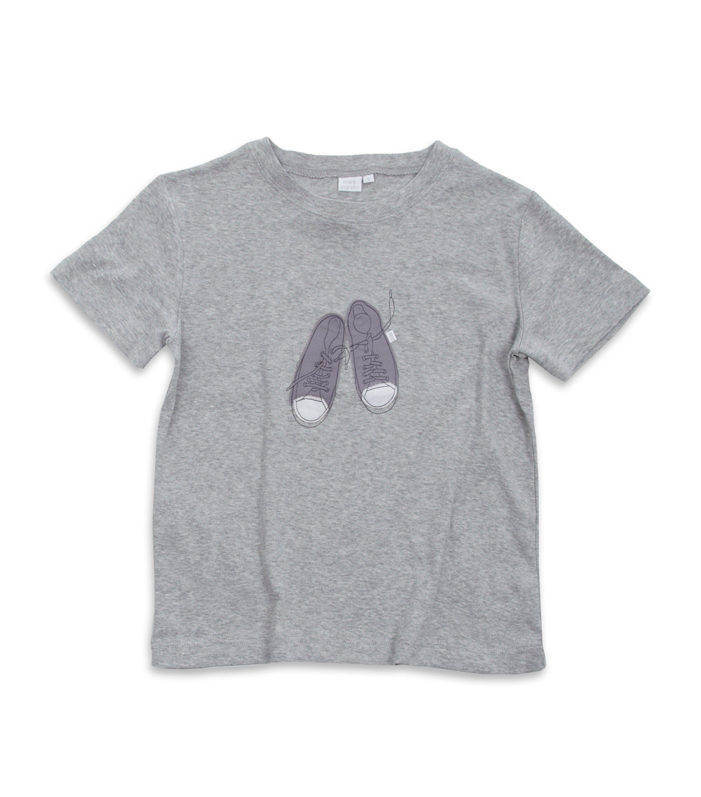 Boy`s Grey Marl Lounge Top
