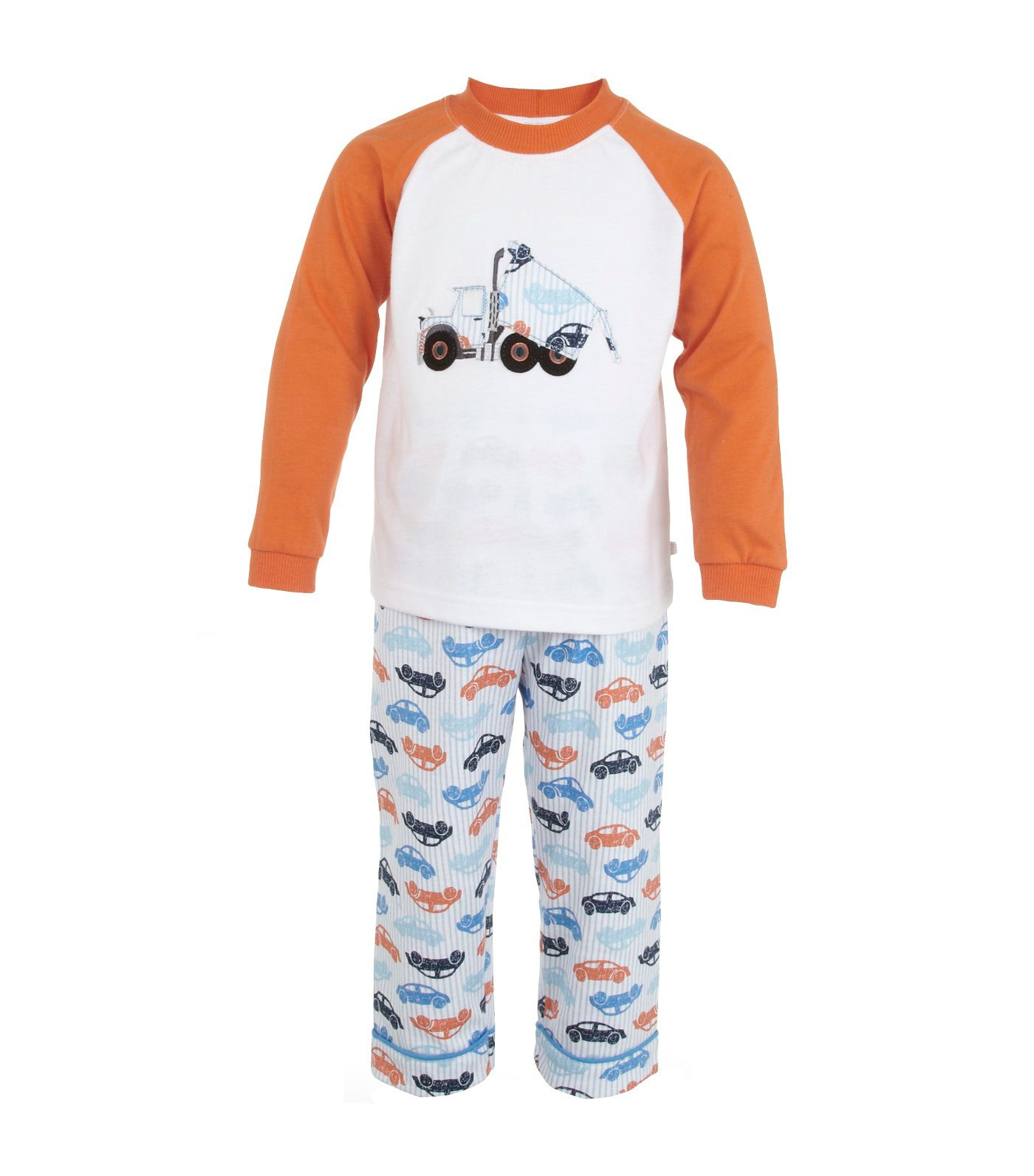 Boy`s lounge pyjamas with truck motif