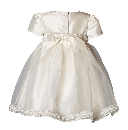 Heritage Girl`s Daisy silk short sleeve dress