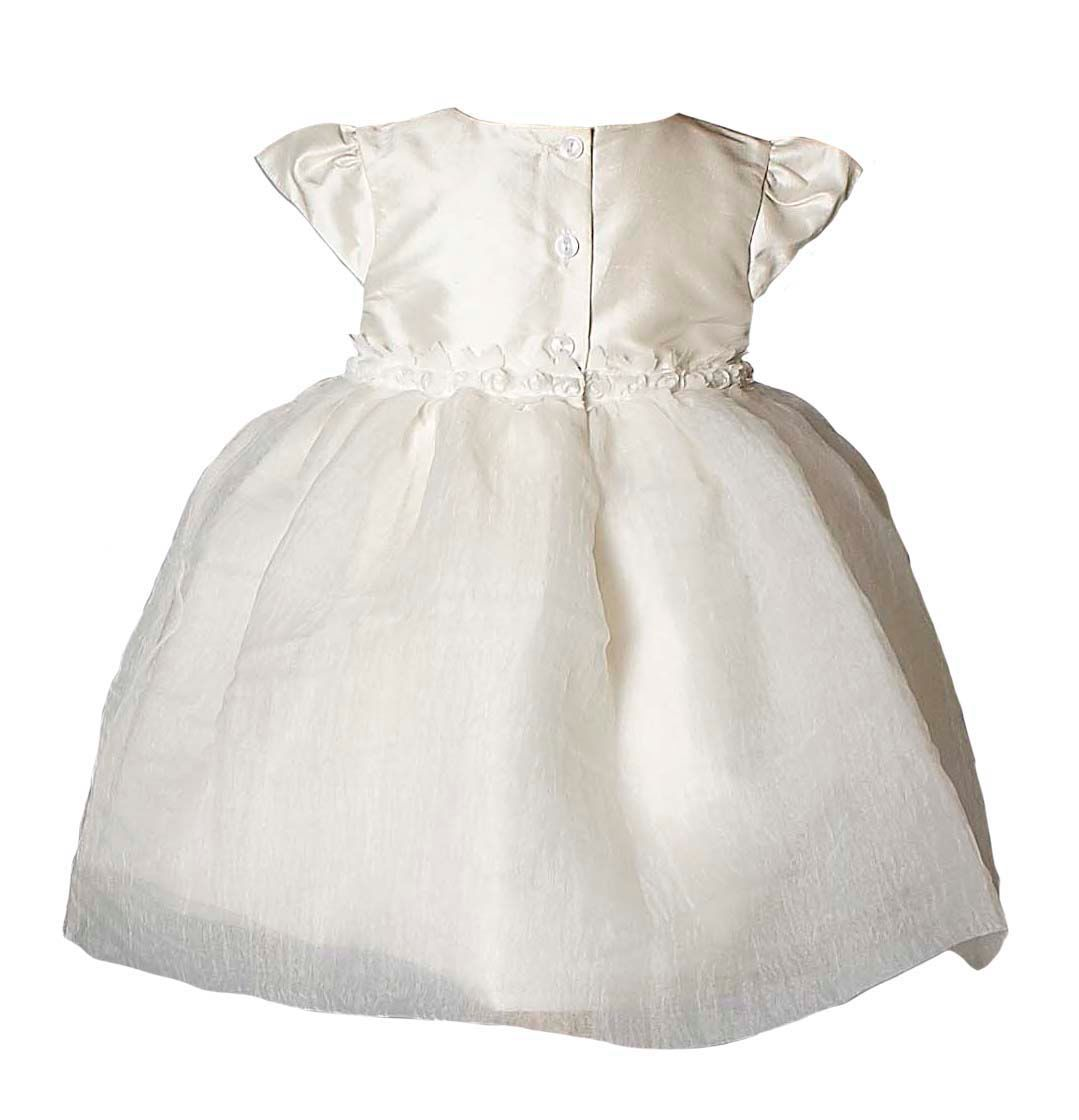 Girl`s Elise silk cap sleeve dress