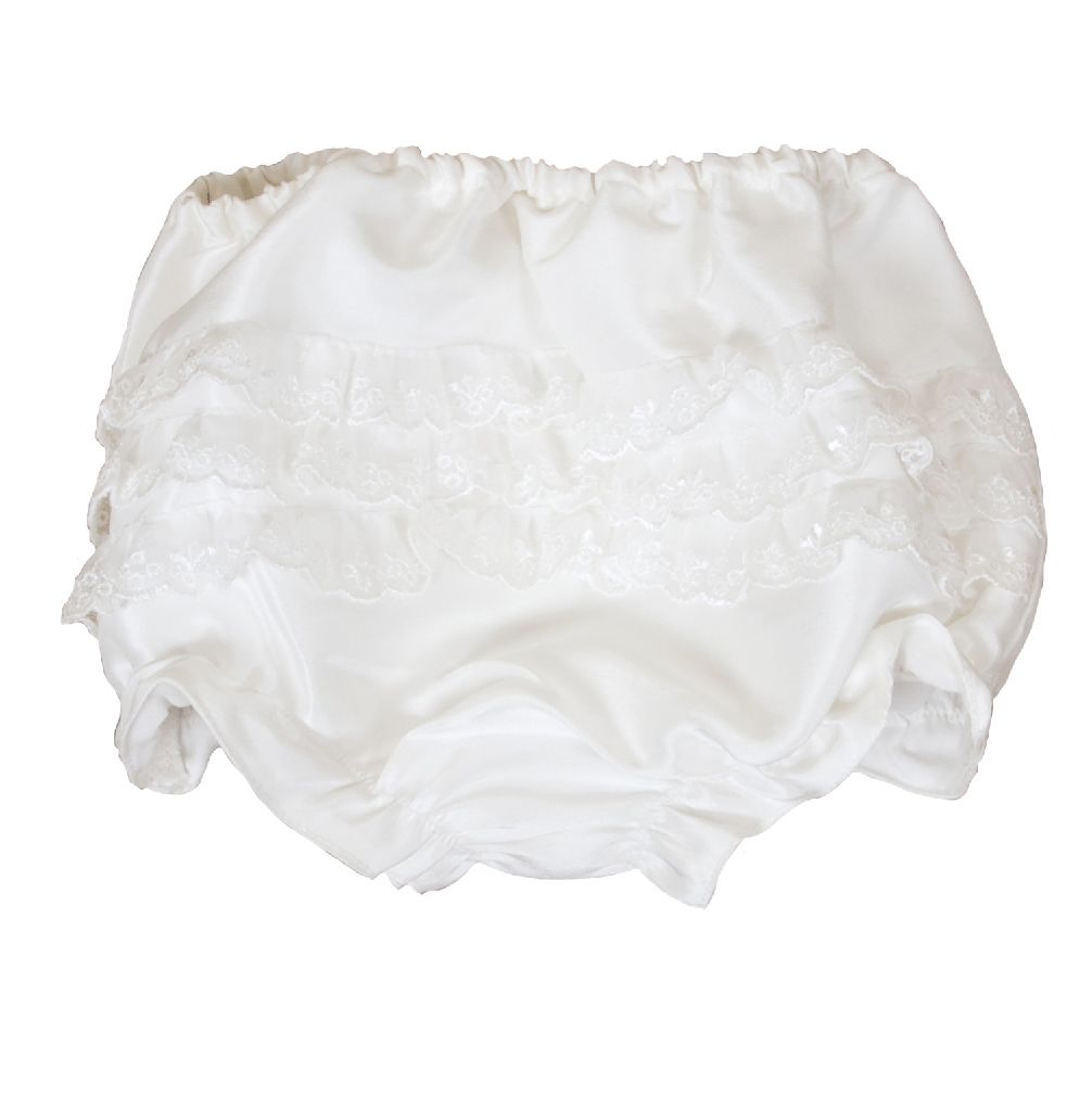 Heritage Heritage Girls Xena frilly knickers, Ivory