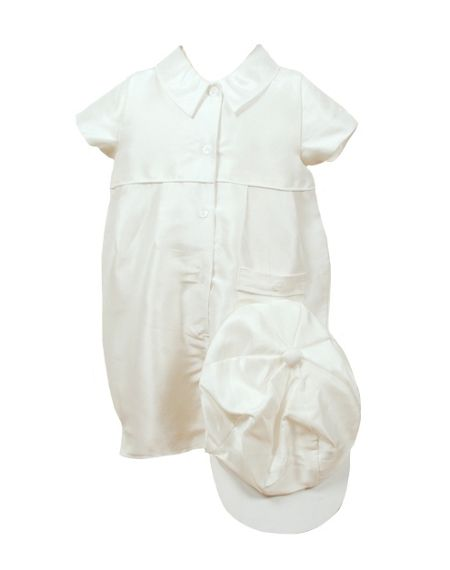 Heritage Boy`s Caine silk all in one with cap