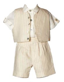 Heritage Boy`s Benjamin shirt, shorts and cap