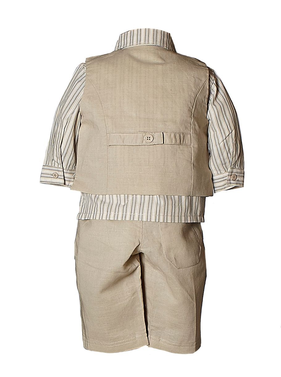 Boy`s shirt, trousers and waistcoat set