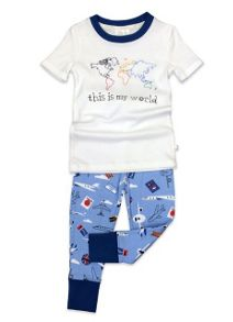 Mini Vanilla Boys It`S My World `Skinny` Fit  Pyjamas