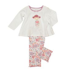 Girls lounge jersey pyjamas