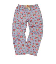 Girls soft woven cotton lounge pants